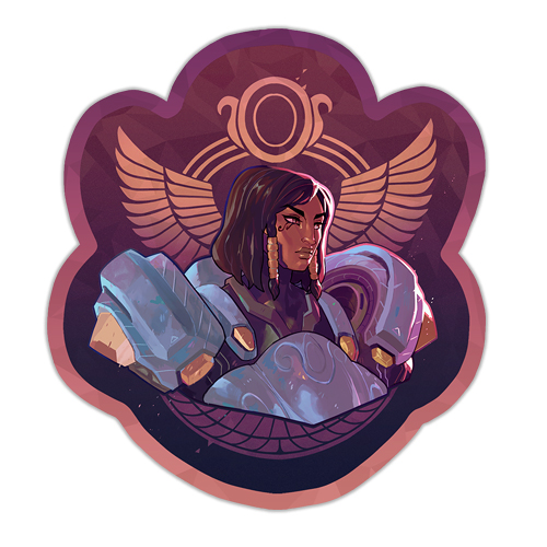 falcon-chief-sparkly-sticker-thumb
